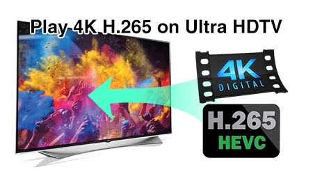 issues playing HEVC/H.265 video files on your HDTV