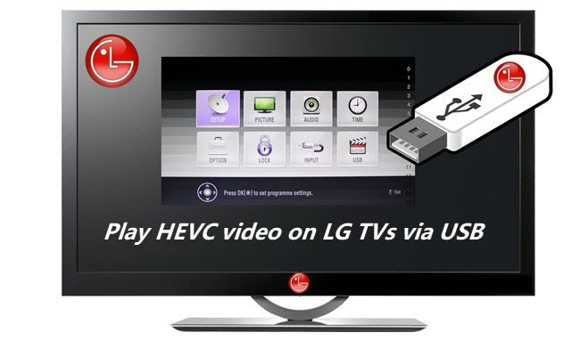 convert h265 for lg tv playback