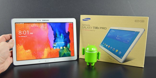recover data from a broken Samsung Tab Pro 10.1