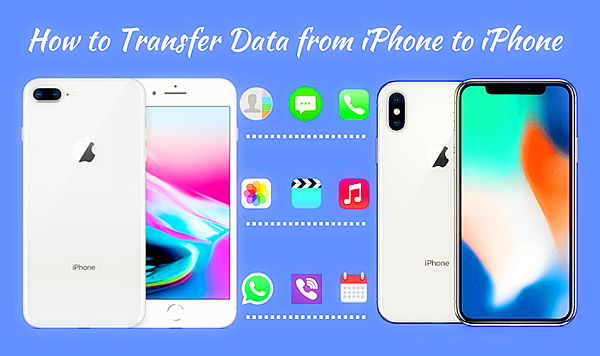 iPhone to iPhone data transfer