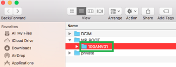 transfer sony video to mac