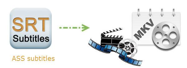 attach subtitles to an MKV video