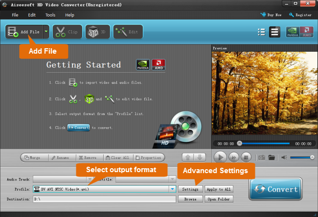XAVC MXF Converter for YouTube/Vimeo