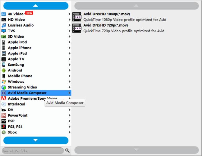 S-Log footage in Avid-how to edit S-Log files in Avid MC