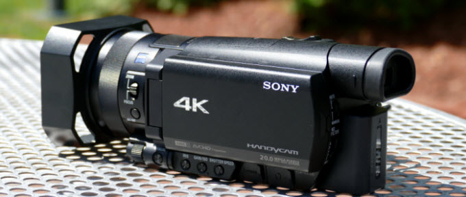 import Sony AX100 footage in the XAVC S (.mp4) format into Final Cut Pro 7