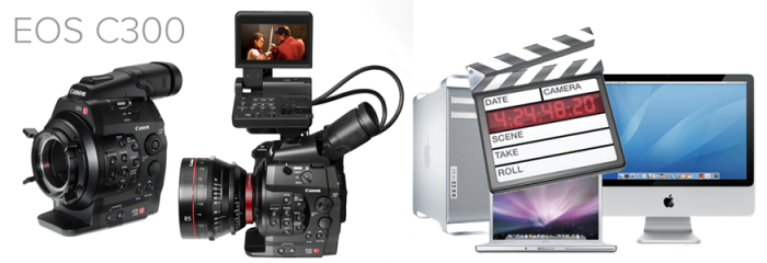 work with Canon C300 footage in FCP 7