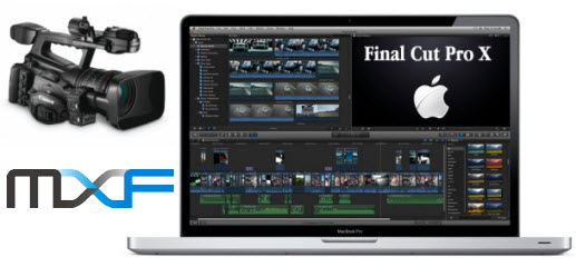 load Canon MXF files into FCP X