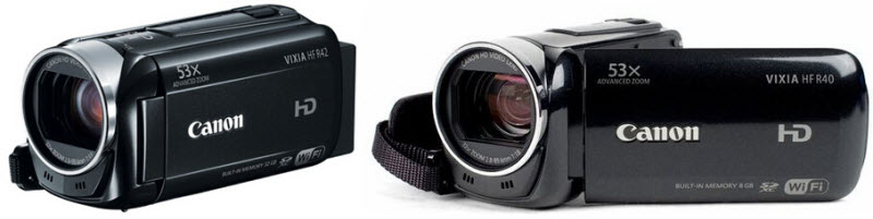 canon r40 and r42