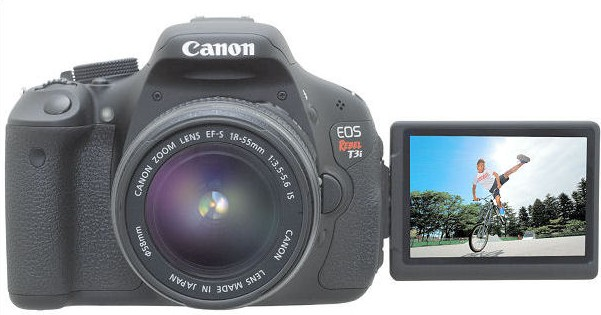 canon t3i to imovie