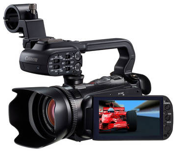 importing and editing AVCHD video from Canon XA10 in iMovie