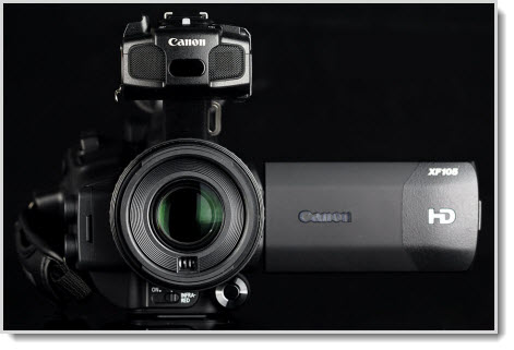 import Canon XF105 MXF footage to Premiere/Vegas