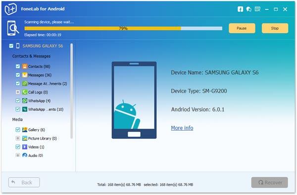 broken Alcatel Idol 3 data recovery
