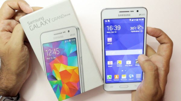 recover deleted photos from a Samsung Galaxy Grand Prime