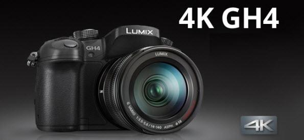 editing Panasonic GH4 4K MOV/MP4 footage in Avid