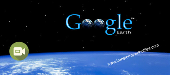 capture Google Earth actions as a video