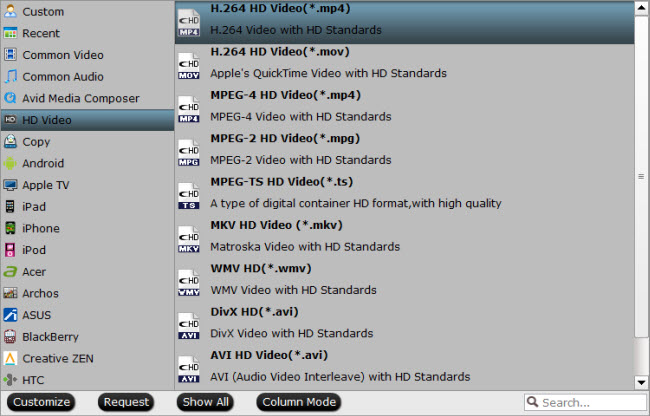 convert TiVo files for Blu-ray burning