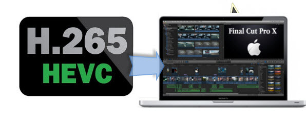 edit H.265/HEVC files in FCP X