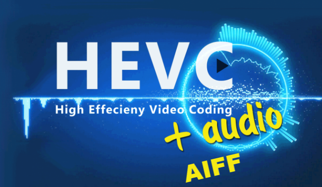 Premiere won't read HEVC with AIFF audio