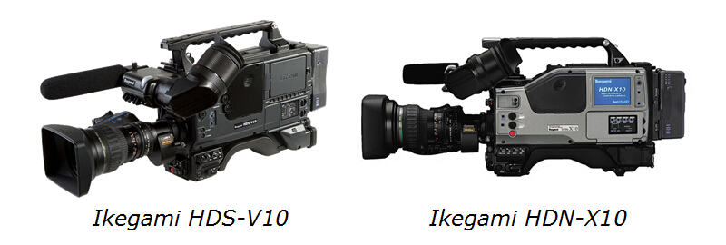 Ikegami HDS-V10 and HDN-X10
