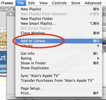 sync/transfer local contents to iTunes on Mac/PC