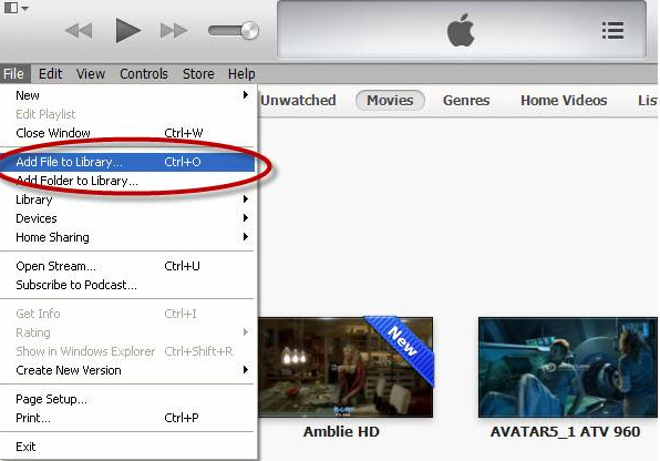 sync local contents such as music and videos kept on Mac or PC