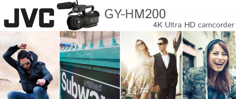 JVC GY-HM200 to FCP Video converter