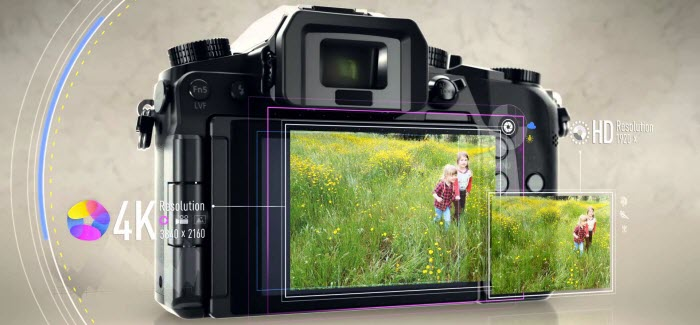 convert Panasonic Lumix DMC-G7 4K MP4 footage for editing