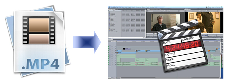 edit MP4 files in FCP 7