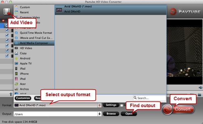 edit TiVo files in Avid Media Composer