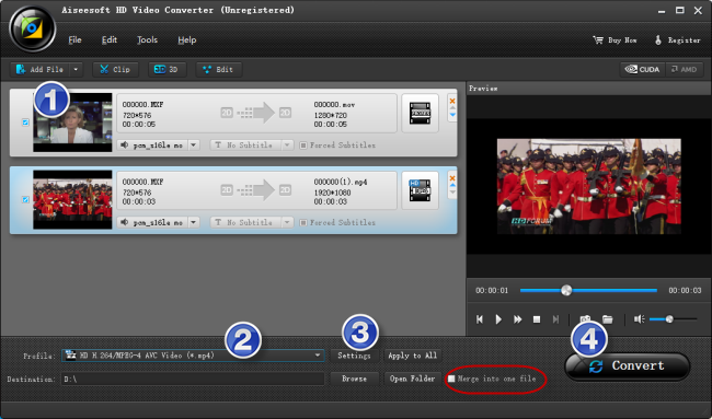 converting MXF files to H.264 MP4 fit for YouTube