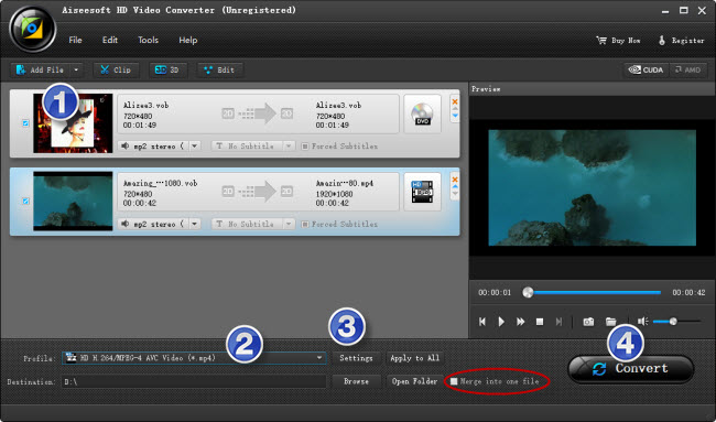 upload VOB files from a DVD onto YouTube