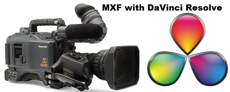 mxf with resolve