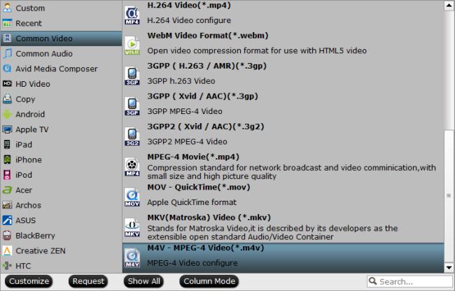 convert vro to m4v on mac