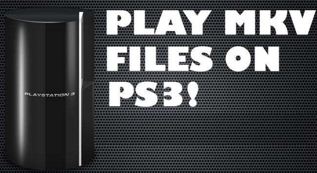 make MKV movies playable on PS3