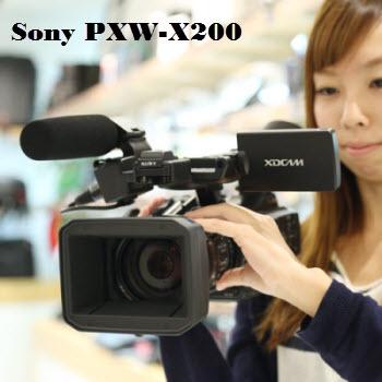 Sony PXW-X200 XAVC in FCP