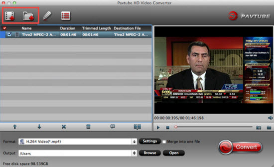 convert TiVo recordings to ProRes for FCP X