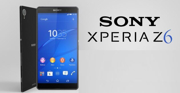 lost data on Sony Xperia Z6